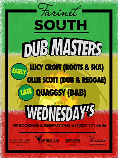 dub masters poster