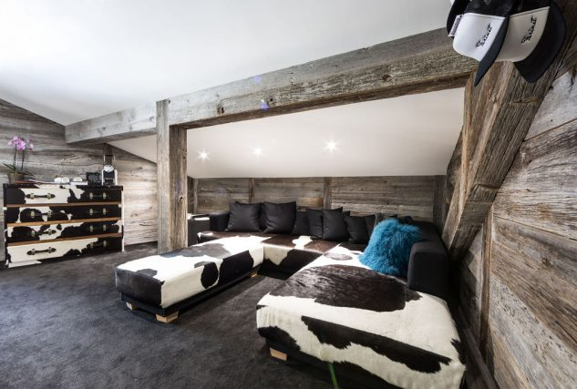 penthouse suite lounge area hotel farinet verbier