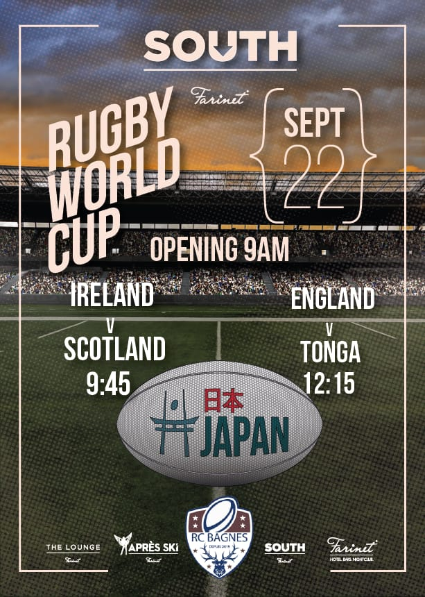 Sports Bar Verbier Rugby World Cup