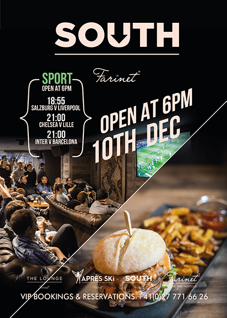 sports bar verbier farinet south opening 2019